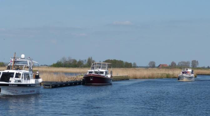 Bilder vom Hausboot-Urlaub in Friesland