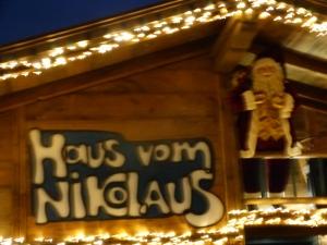 Hier wohnt er, der Herr Nikolaus