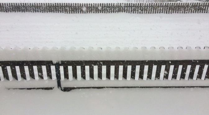 Sonntagsfreude: Schneetag
