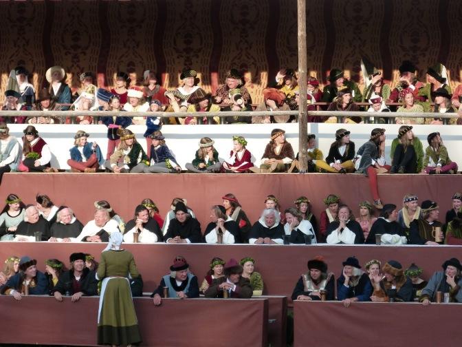 Umzugsstimmung: Jeder Zuschauer ein Ehrengast